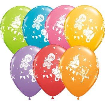 6 Ballons Cirque