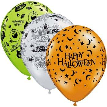25 Ballons Halloween Trio