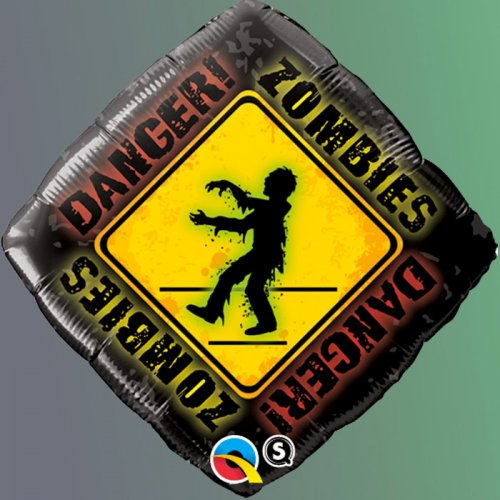 Ballon à Plat Zombie