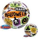 Bubble Ballon à Plat Happy Halloween