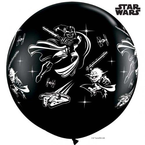 2 Ballons Géant Star Wars (86 cm)
