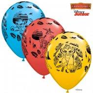 25 Ballons La Garde du Roi Lion