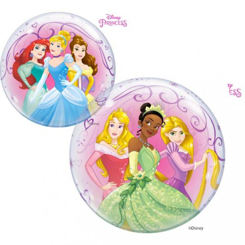 Bubble Ballon à Plat Princesse Disney