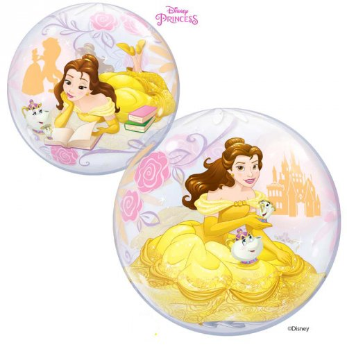 Bubble Ballon Princesse Disney Belle