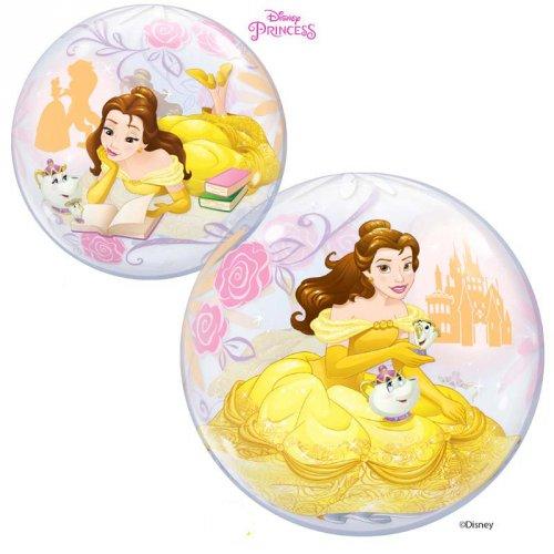 Bubble Ballon Gonflé à l Hélium Princesse Disney Belle