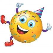 Ballon Géant Smiley Party (97 cm)
