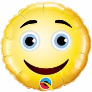 Ballon sur Tige Emoji Smiley Sourire