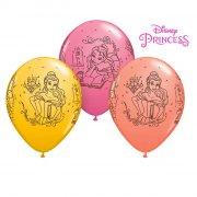 25 Ballons Princesse Disney Belle