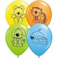25 Ballons Animaux Mignons