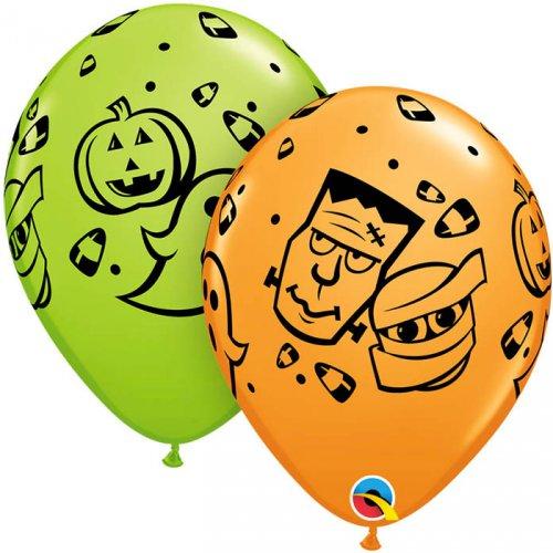 25 Ballons Halloween Monsters