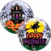 Bubble Ballon Gonflé à l'Hélium Halloween Hanté