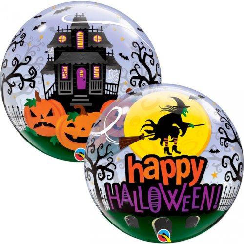 Bubble Ballon Gonflé à l Hélium Halloween Hanté