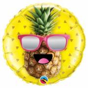 Ballon à Plat Ananas Fun
