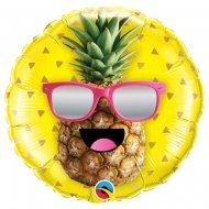 Ballon Hélium Ananas Fun