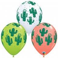 25 Ballons Cactus