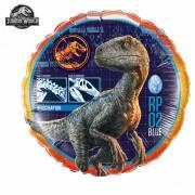 Ballon Gonflé à l'Hélium Jurassic World