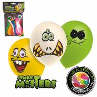 8 Ballons Sticky Monsters