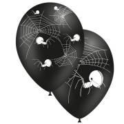 8 Ballons Araignée Noir