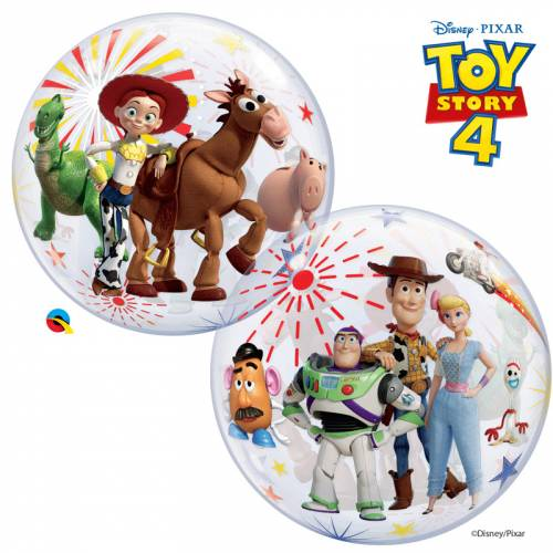Bubble Ballon Gonflé à l Hélium Ballon Toy Story 4