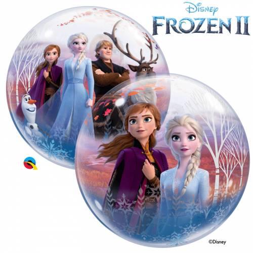 Bubble Ballon à Plat La Reine des Neiges 2