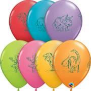 50 Ballons Dinos
