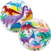 Bubble Ballon Gonflé à l'Hélium Dinos