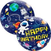 Bubble Ballon Gonflé à l'Hélium Espace