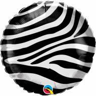 Ballon Gonflé à l'Hélium Zébre