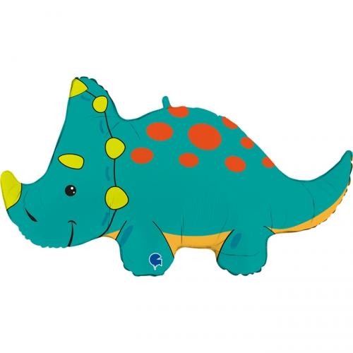 Ballon Géant Triceratops - 91 cm