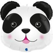 Ballon Géant Tête de Panda - 74 cm