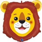 Ballon Géant Tête de Lion - 74 cm