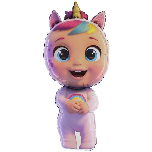 Petit Ballon à Plat Silhouette Cry Babies