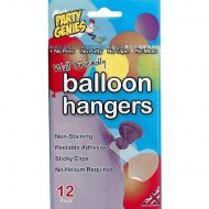 Sachet de 12 fixations collantes pour Ballons