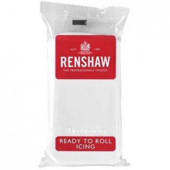 Pâte à sucre Blanc 500g Renshaw