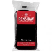 Pâte à sucre Noir 250g Renshaw