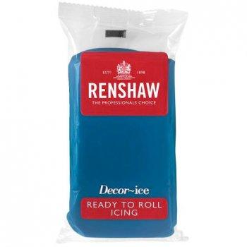 Pâte à sucre Bleu Océan 250g Renshaw