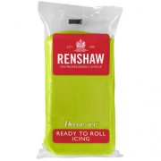 Pâte à sucre Vert chartreuse 250g Renshaw