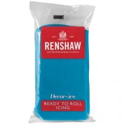 Pâte à sucre Bleu Turquoise 250g Renshaw