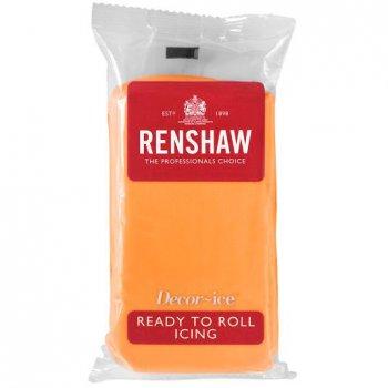 Pâte à sucre Orange pop 250g Renshaw