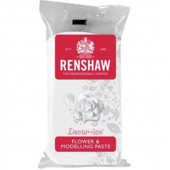 Pâte à sucre Blanc Modelage Fleurs 250g Renshaw
