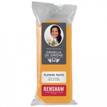 Pâte à sucre Jaune modelage Fleurs 100g Renshaw