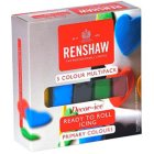 Pack 5 P�tes � Sucre Couleurs Primaires Renshaw