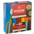 Pack 5 P�tes � Sucre Couleurs N�on Renshaw