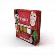 Pack Pâte à sucre 5 couleurs Noël Renshaw