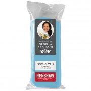 Pâte à sucre Bleu Clair modelage Fleurs 100g Renshaw
