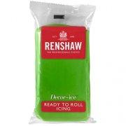 Pâte à sucre Vert Olive 500g Renshaw