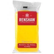 Pâte à sucre Jaune 500g Renshaw