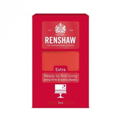 Pâte à Sucre Extra Rouge Renshaw (1 kg)