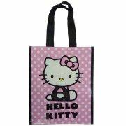 Sac Cabas Hello Kitty Mini Rose � pois
