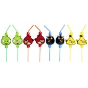 8 Pailles Angry Birds